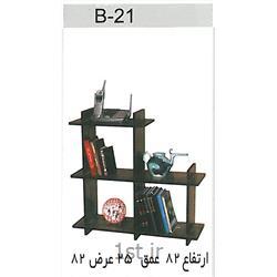 عکس قفسه و طاقچه وسایلکتابخانه تو در تو B21