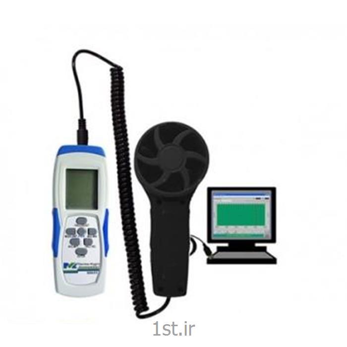 عکس انبار تجهیزات اندازه گیری و ابزار دقیقدبی سنج  و سرعت سنج باد Anemometer