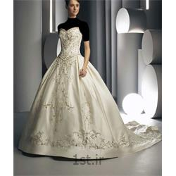 لباس عروس سبک اروپایی دکلته