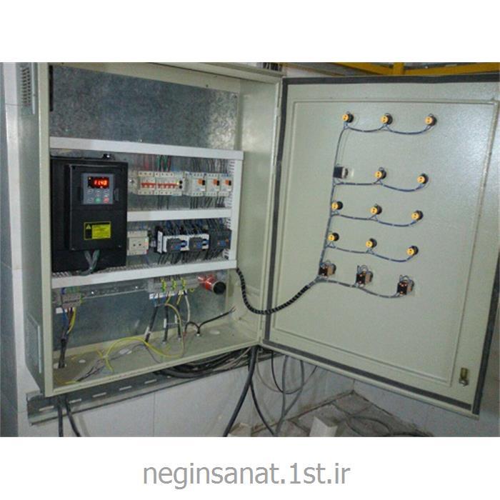 تابلو برق بوستر پمپ دور متغیر آبرسانی 11 کیلو وات 3 پمپ