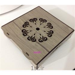 جعبه نوشیدنی چوبی فانتزی