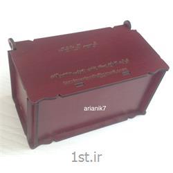 جعبه چوبی کوچک بامبو