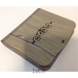 جعبه چای و قهوه چوبی فنری