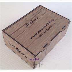 جعبه پالت دار چوبی 3 ردیفه