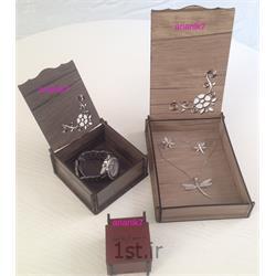 جعبه جواهر چوبی تزئینی