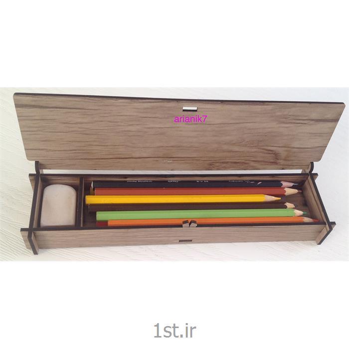 عکس جامدادیجامدادی چوبی کوچک