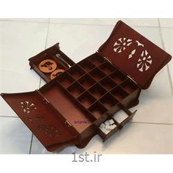 جعبه پذیرایی چوبی چای و نوشیدنی تبلیغاتی