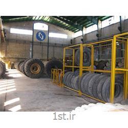 فروش لاستیک ماشین آلات راهسازی و معدنی