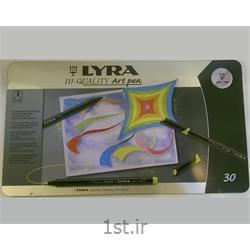 عکس ماژیک هنریماژیک 30 رنگ لیرا مدل Art Pen