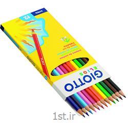 مداد رنگی 12 رنگ جیوتو
