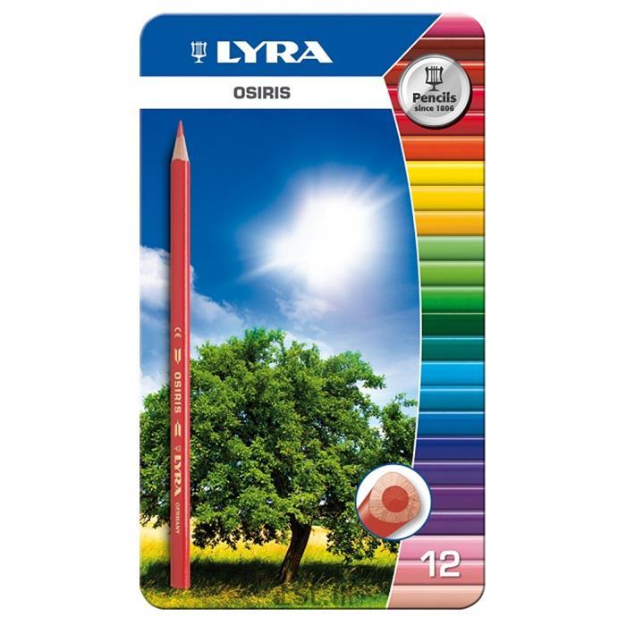 مداد رنگی 12 رنگ لیرا