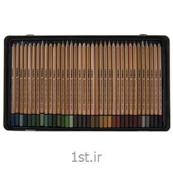 مداد رنگی 72 رنگ حرفه ای لیرا مدل آبرنگی