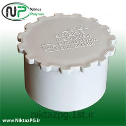 عکس PVC (پی وی سی)درپوش پی وی سی (پلیکا) سایز 63 میلیمتر استاندارد نیکتاز پلیمر