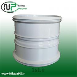 عکس PVC (پی وی سی)بوشن (سوکت) پی وی سی (پلیکا) سایز 110 میلیمتر استاندارد نیکتاز پلیمر