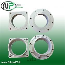 عکس PVC (پی وی سی)فلنج پی وی سی (پلیکا) سایز 200 میلیمتر استاندارد نیکتاز پلیمر