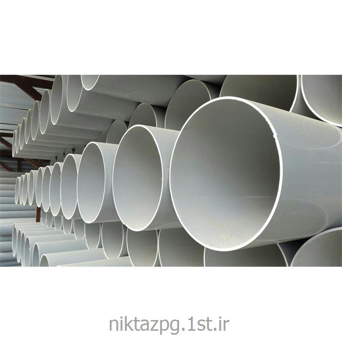 عکس قطعات و اتصالات لوله کشیلوله پلیکا نیمه قوی110میلیمتر نیکتازپلیمرگلپایگان