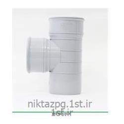 عکس PVC (پی وی سی)سه راه  پی وی سی (پلیکا) سایز 90*110 استاندارد نیکتاز پلیمر