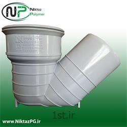 عکس PVC (پی وی سی)سیفون پی وی سی (پلیکا) سایز 110*125 میلیمتر استاندارد نیکتاز پلیمر