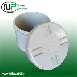 عکس PVC (پی وی سی)رابط بازدید پی وی سی (پلیکا) سایز 110 میلیمتر استاندارد نیکتاز پلیمر