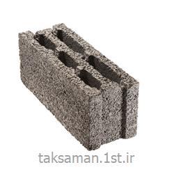 عکس بلوک های ساختمانیبلوک دیواری سبک 20*5/14*49 سه جداره لیکا