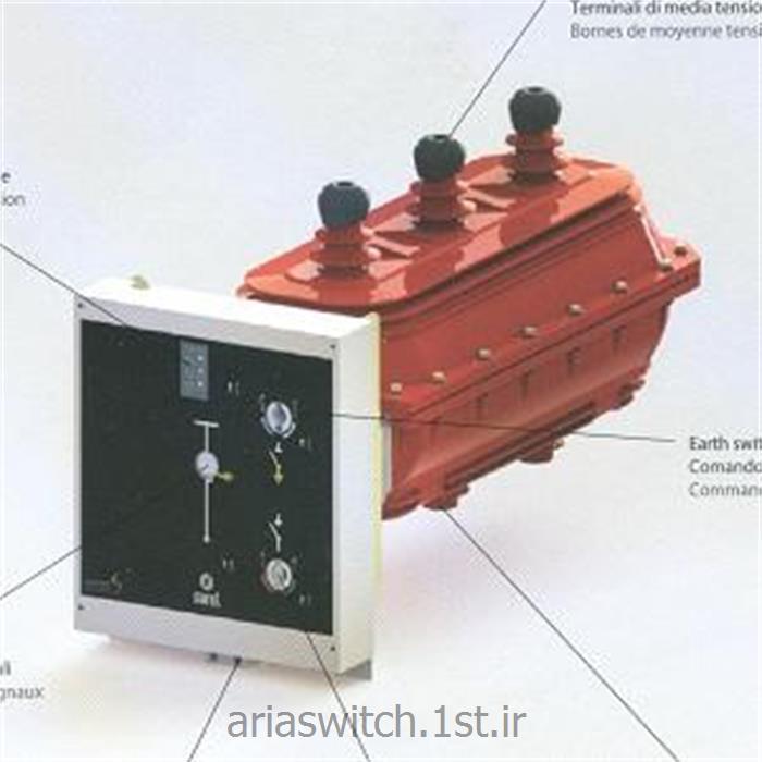 عکس سایر سوئیچ و کلید هاسکسیونر گازی سارل 12 کیلوولت
