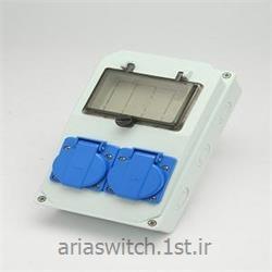 عکس جعبه تجهیزات الکترونیکباکس دیواری تم ترکیه تکفاز درب دار