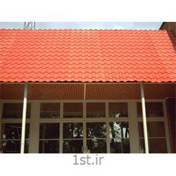 ورق سقفی گالوانیزه پیش رنگ شده با رنگ کوره ای