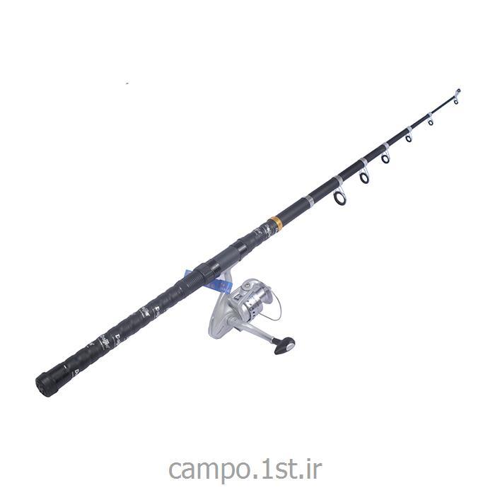 چوب ماهیگیری داجیا 360 و چرخ HB5000