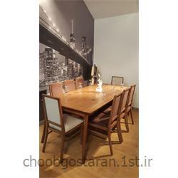 میز ناهارخوری چوبی کد 75