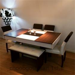 میز ناهارخوری تبدیلی کد 95