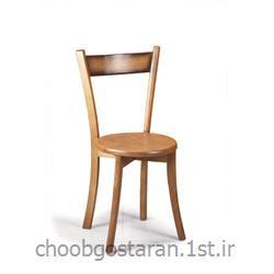 صندلی ناهار خوری کف چوب