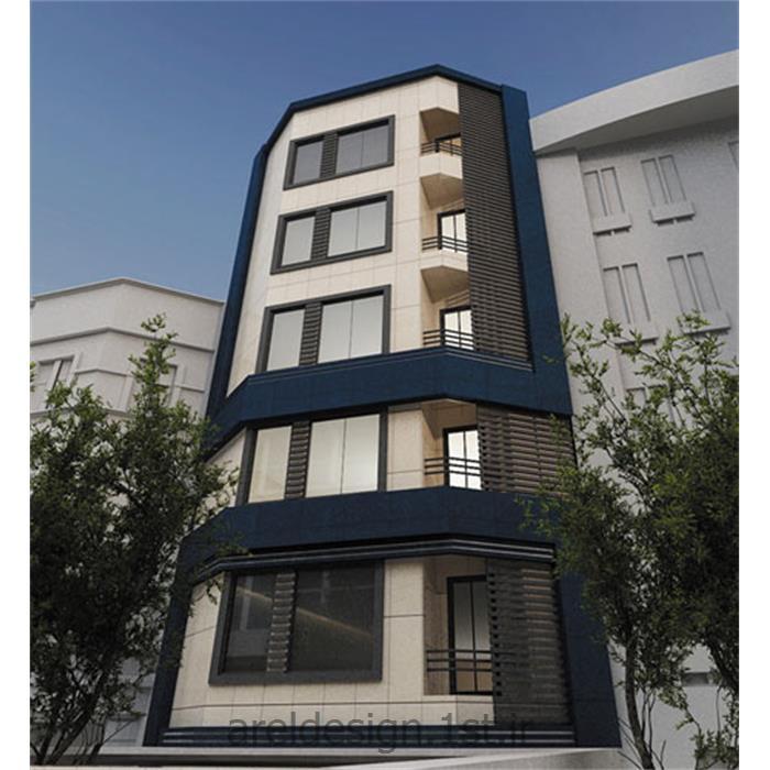 عکس طراحی ساختمانطراحی نمای ساختمان مسکونی Facade design