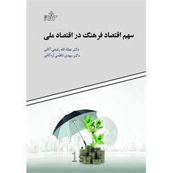 کتاب سهم اقتصاد فرهنگ در اقتصاد ملی نوشته دکتر عطاءالله رفیعی