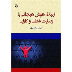 کتاب ارتباط هوش هیجانی با رضایت شغلی و کارایی  نوشته مریم پیغمبری