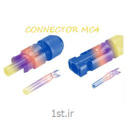 عکس سلول و پنل خورشیدیکانکتور نری و مادگی خورشیدی MC4
