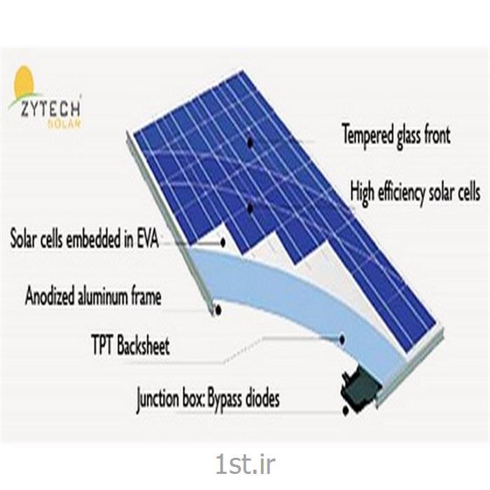 عکس سیستم های انرژی خورشیدیپنل خورشیدی 20 وات زایتک