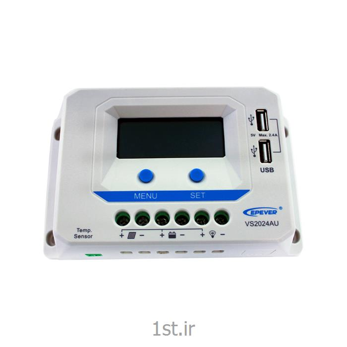 عکس شارژر خورشیدیشارژ کنترلر ای پی سولار EPSolar  VS2024AU