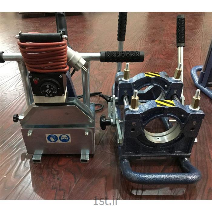 عکس دستگاه جوش لب به لب (دستگاه جوش سر به سر)دستگاه جوش 110 دستی پلی اتیلن بارینکو