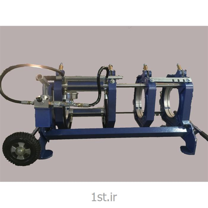 عکس دستگاه جوش لب به لب (دستگاه جوش سر به سر)دستگاه جوش ۳۱۵ نیمه هیدرولیک بارینکو