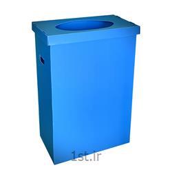 سطل بازیافت 230لیتری درب دار
