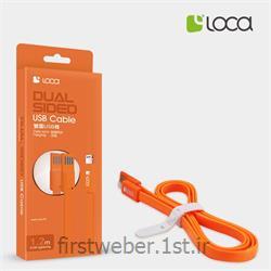 کابل تبدیل USB به گوشی آیفون 5 لوکا
