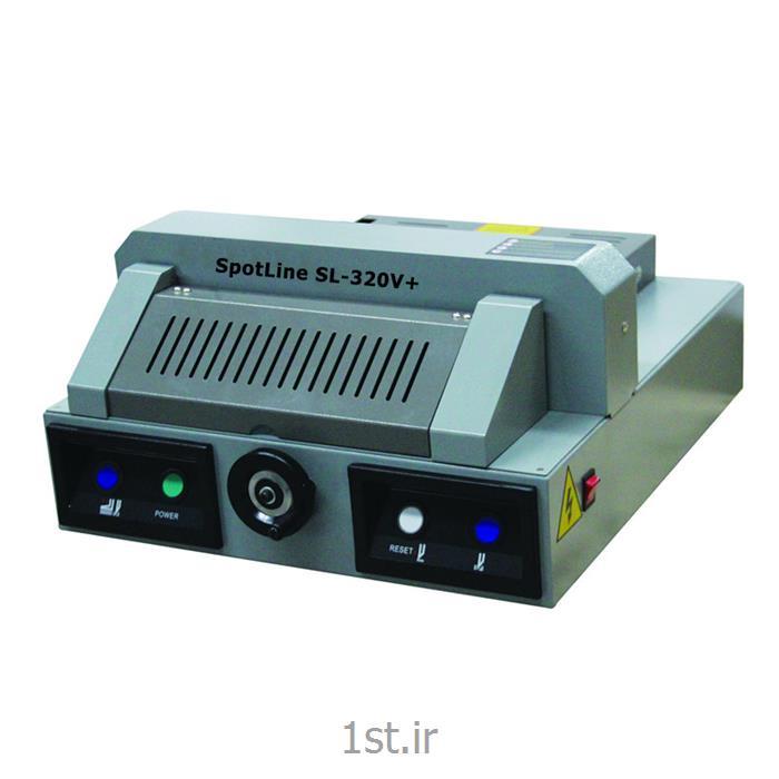 عکس کاتر کاغذدستگاه برش کاغذ برقی نیمه اتوماتیک رومیزی مدل 320v