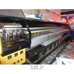 عکس چاپگر (پرینتر)دستگاه چاپ بنر و فلکسی 4 هد کونیکا 512 عرض 3.20