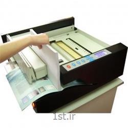 عکس دستگاه سیمی کن (صحافی)صحافی چسب گرم رومیزی برقی تمام اتوماتیک عرض 40 سانت