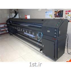 عکس چاپگر (پرینتر)دستگاه چاپ بنر استوک  8 هد زار 128 عرض 3.20