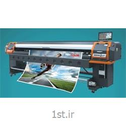 عکس چاپگر (پرینتر)دستگاه بنر مطسا عرض 3.20 8 هد زار 128 (درحال کار)