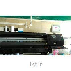 عکس چاپگر (پرینتر)دستگاه بنر nt jet با 4 هد کونیکا 512
