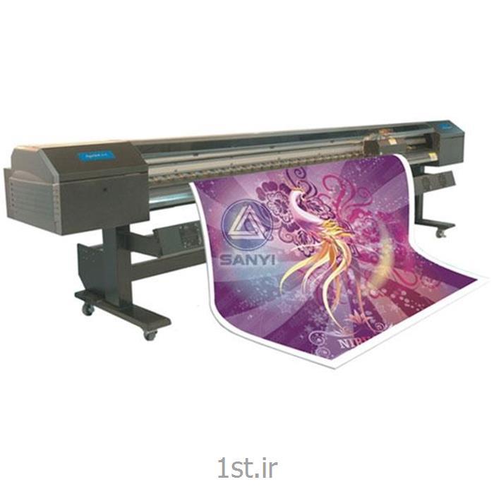 دستگاه چاپ بنر عرض 3.20 آکبند با 8 هد اسپکترا