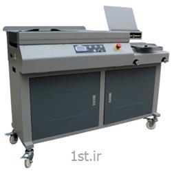 عکس دستگاه سیمی کن (صحافی)دستگاه صحافی چسب گرم نیمه اتوماتیک