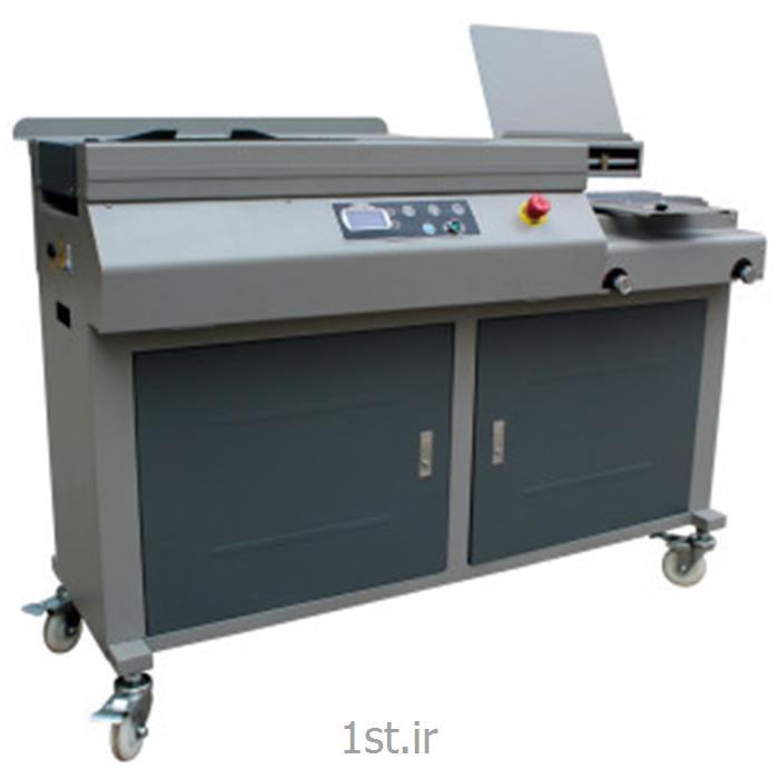 دستگاه صحافی چسب گرم نیمه اتوماتیک